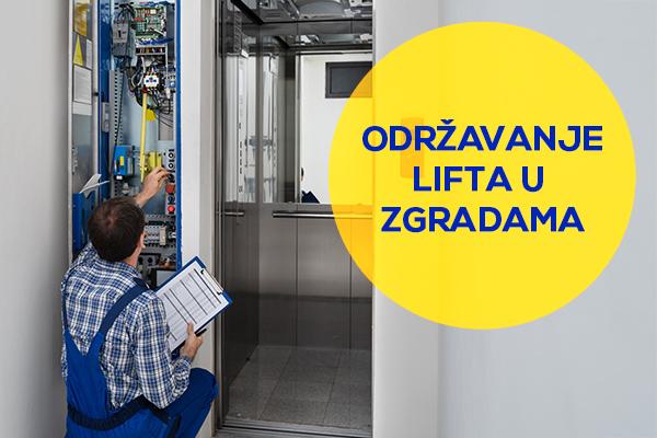 Šta podrazumeva održavanje lifta?